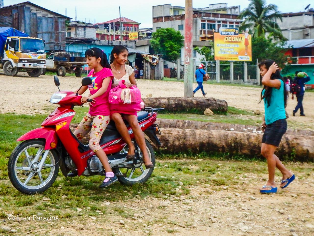 Girls Balancing Fashion with Commuting