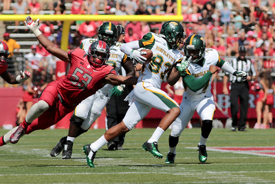 NCAA Football 2015- Norfolk State Visits Rutgers 09/05/2015