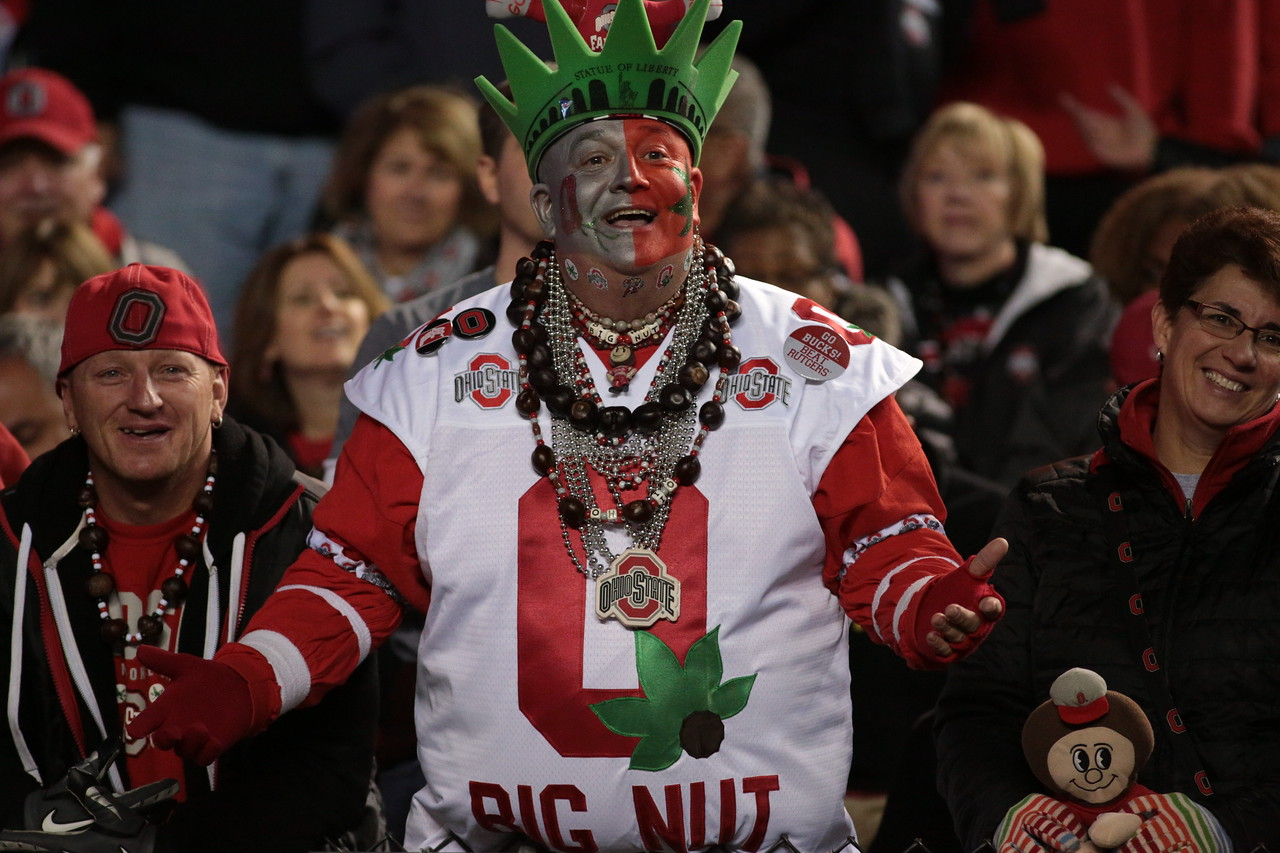 NCAA Football 2015- Ohio State Visits Rutgers 10/24/2015