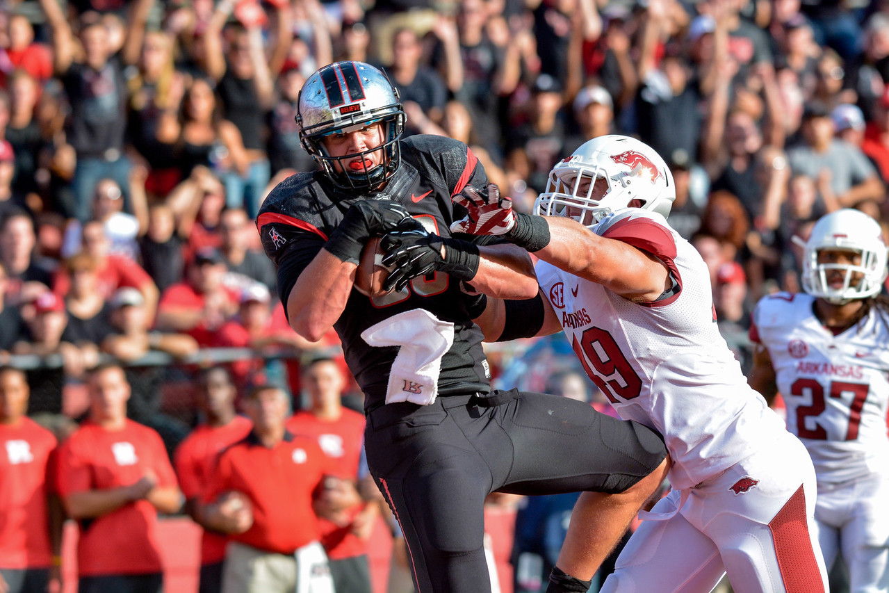NCAA Football 2013 - Arkansas  at Rutgers 09/21/2013