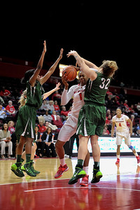 NCAAW Basketball 2013 -Wagner College at Rutgers University 12/12/2013