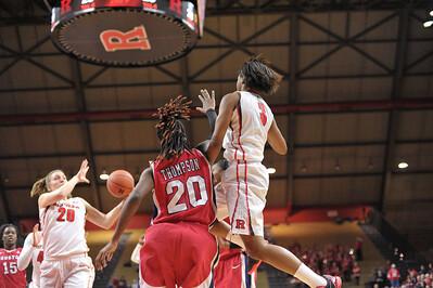 NCAAW Basketball 2014 - Houston University at Rutgers University 01/04/2014