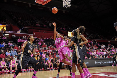NCAAW Basketball 2014 - The University of Central Florida at Rutgers University 02/15/2014