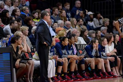 NCAAW Basketball 2014 - Connecticut University at Rutgers University 01/19/2014