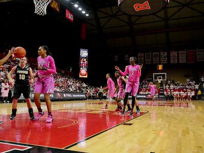 NCAAW Basketball 2015 - Rutgers Defeats Purdue 78-49