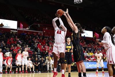 NCAAW Basketball 2014 - Iowa at Rutgers 1/4/2015