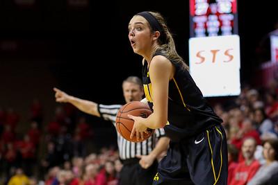 NCAAW Basketball 2014 - Iowa Defeats Rutgers 79-72