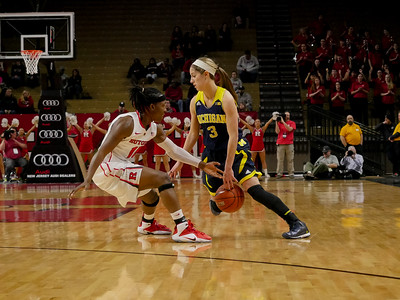 NCAAW Basketball 2015 - Michigan at Rutgers 1/7/2015