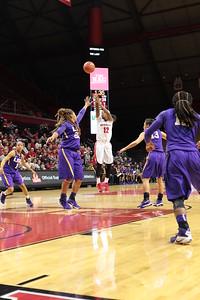 NCAAW Basketball 2015 - Rutgers Defeats LSU 69-57