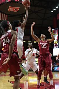 NCAAW Basketball 2015 - Arkansas at Rutgers 12/06/2015
