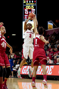 NCAAW Basketball 2016 - Rutgers Beats Wisconsin 61-41