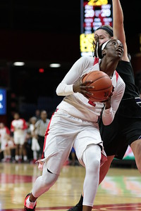 NCAAW Basketball 2016 - Rutgers Defeats Northwestern 61-59