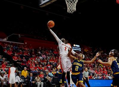 NCAAW Basketball 2016 - Michigan at Rutgers 2/28/2016