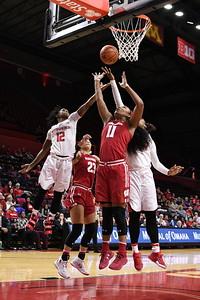 NCAAW Basketball 2016 - Rutgers Beats Wisconsin 68-52