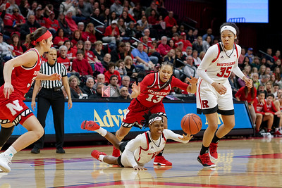NCAAW Basketball 2018 - Nebraska Defeats Rutgers 52-42
