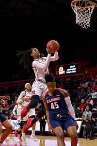 NCAAW Basketball 2017 - Rutgers Defeats Illinois 76-37