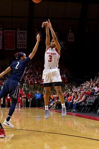 NCAAW Basketball 2017 - Rutgers Defeats Penn State 70-65
