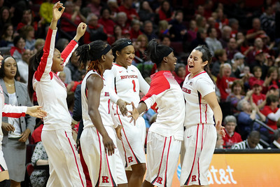 NCAAW Basketball 2015 - Rutgers Defeats Penn State 76-65