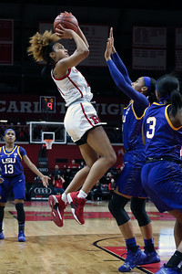 Rutgers Women's Basketball takes on LSU at the RAC on Saturday December 15, 2018 (MARK R. SULLIVAN /THE COAST STAR)