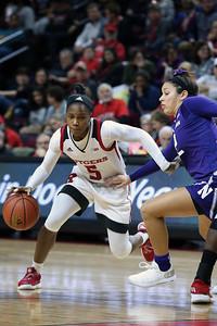 Rutgers Women's basketball vs Northwestern Big Ten Basketball at the Race in Piscataway on December 27, 2018.