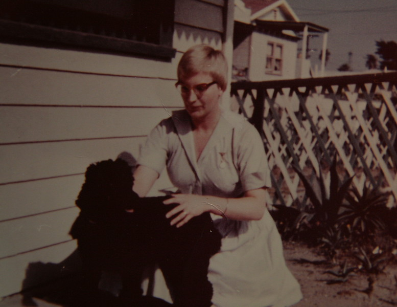 At Venice, CA, house before Paul was born
