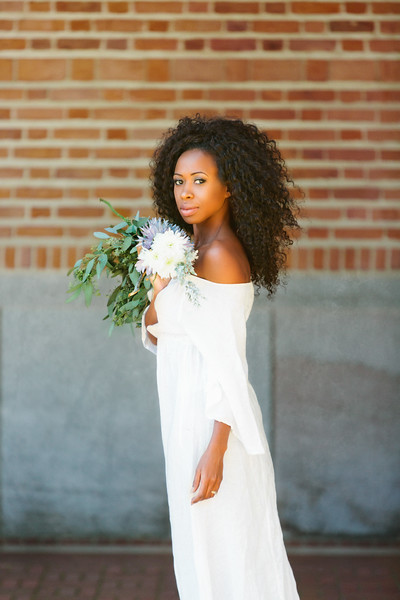 Ruth Voelkle Bridal portrait at Rice University in  Houston, TX
