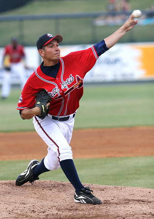 Rome Braves pitcher Edgar Osuna. RA