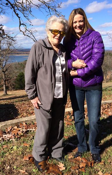 Ruth and Tammy - November 18, 2015