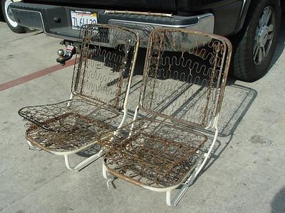 1955 Vert Seats & Body parts