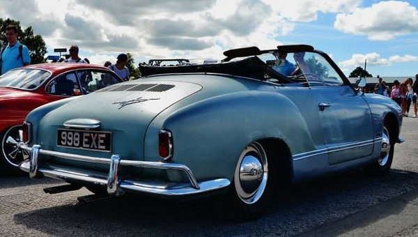 Gareth's '59 Convertible Ghia