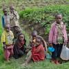 Children of the farm family