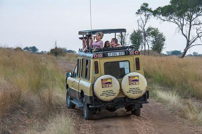 Safari trucks with pop tops