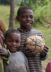 Home made soccer ball