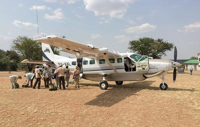 Out transport from Rwanda to Tanzania.