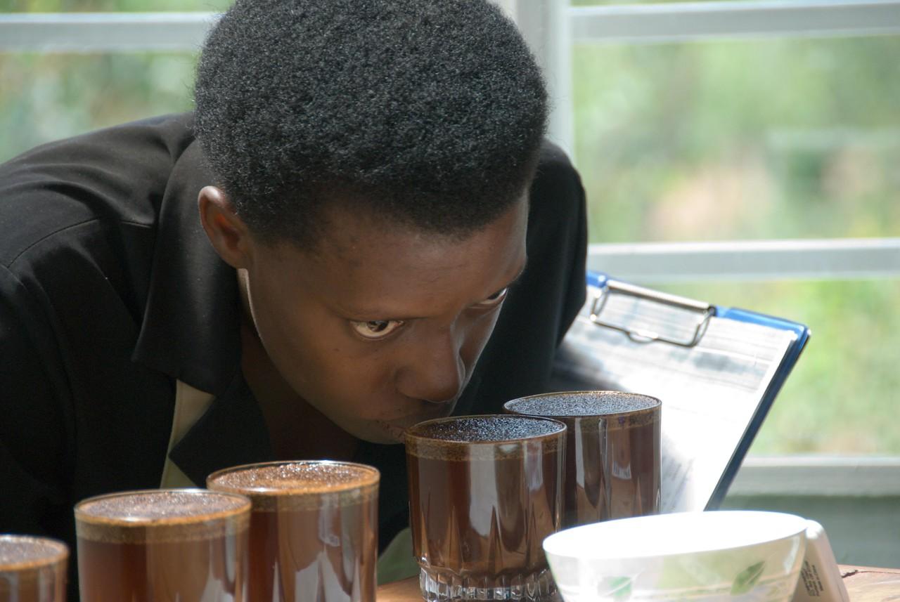 Claire Kampeta, National Cupper, Rwanda