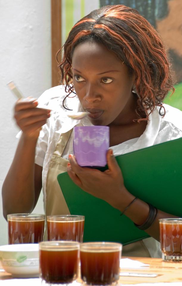 Regina Niyonsaba, National Cupper, Rwanda