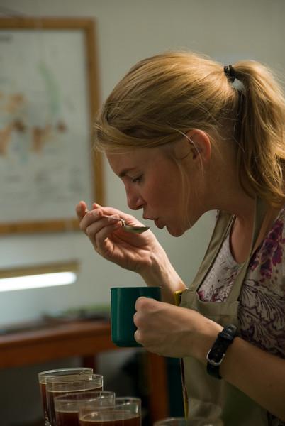 Christy Thorns of Allegro Coffee Company, USA