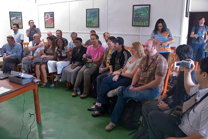 Panorama of most of the international jury.