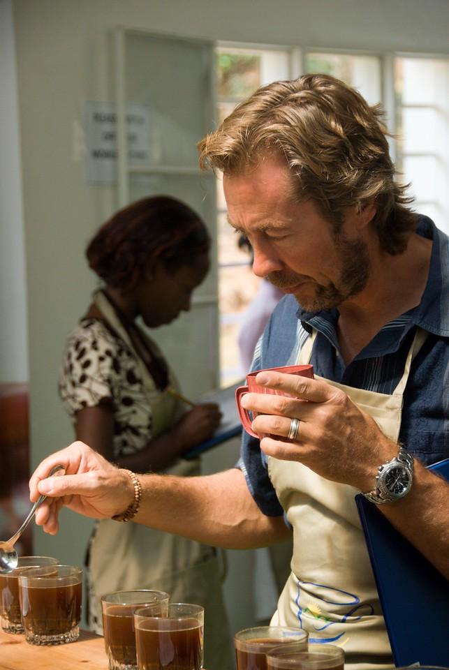 Simon Thompson of Cravens Coffee, USA