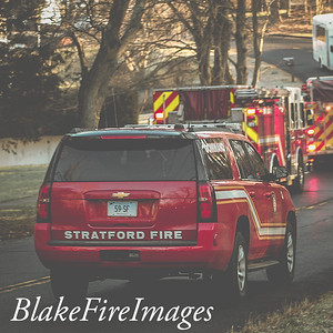 Reported Structure Fire - Chapel Street, Stratford, CT - 12/23/19