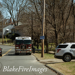 Brush Fire - Quail St, Stratford, CT - 4/4/20
