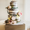 Wedding cake is always good cake! This one is from Rebekah and Eriks wedding!