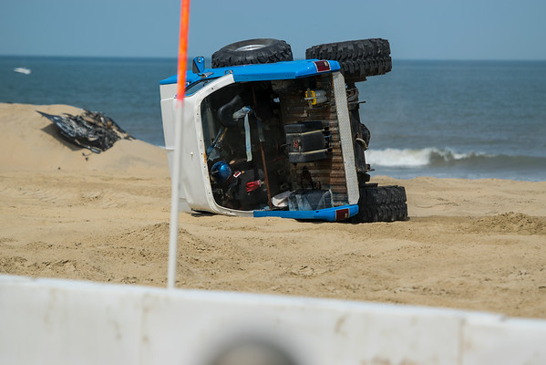 Ryan Horsman Tuff Truck Rollover