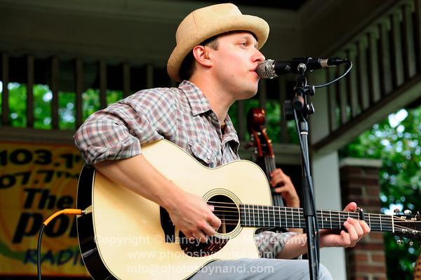 Ryan Montbleau, Coburn Park,  Front Porch Music, Series Lebanon NH