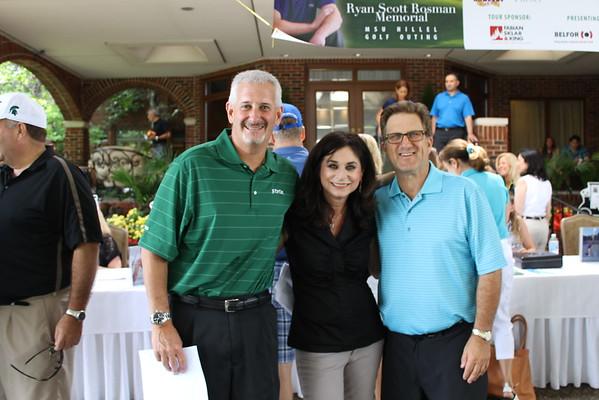 2015 Ryan Rosman Memorial MSU Hillel Golf Outing