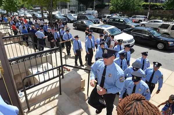 Philadelphia Police Academy Graduation