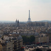 Eiffel Tower from Notre Dame Cathedral