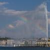 Fountain in Lake Geneva, Switzerland