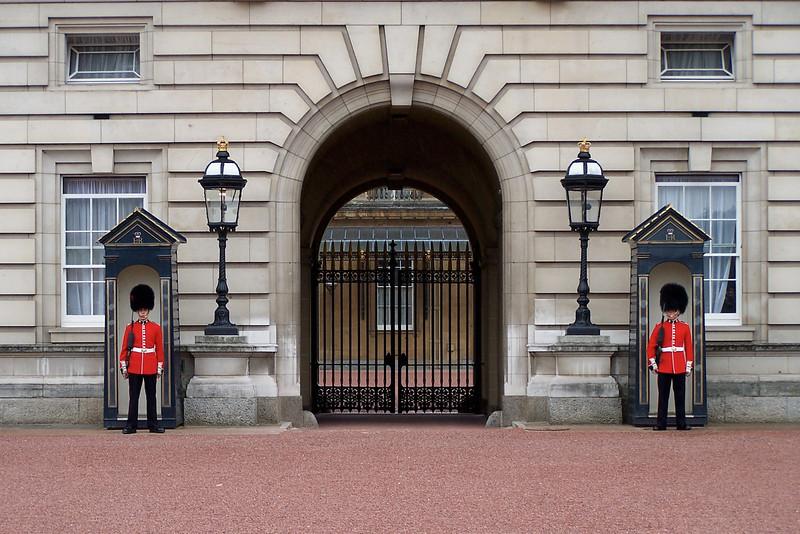 The Royal Guard At Buckingham Palace