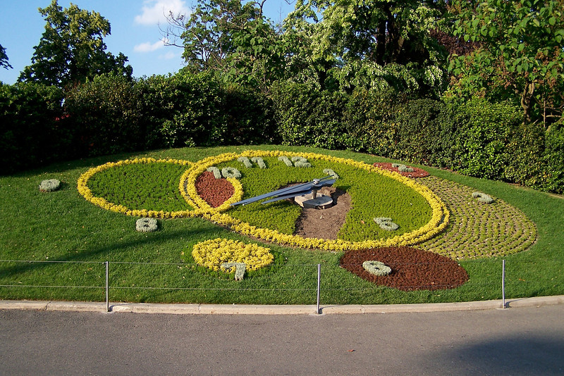 The Flower Clock of Geneva